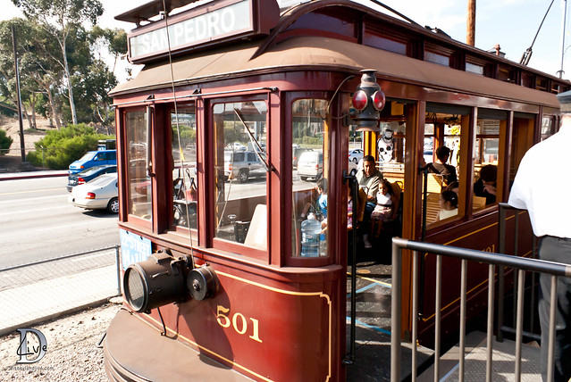 Pacific Electric Railway / Red Car Trolley - Exterior