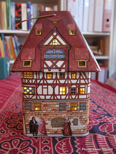 16th century house lantern by Anna Amnell