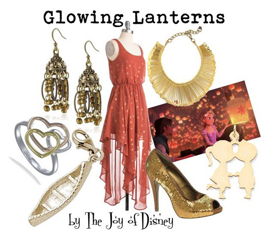 Inspired by: Glowing Lanterns -- Tangled