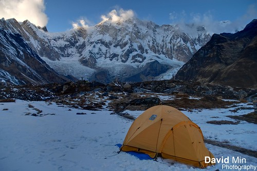 Annapurna Base Camp, Nepal - Frozen Morning