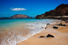 Playa de La Concha y Montaña Clara - La Graciosa