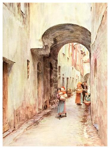 008- Un pasaje en Noli-An artist in the Riviera (1915)-Walter Tyndale