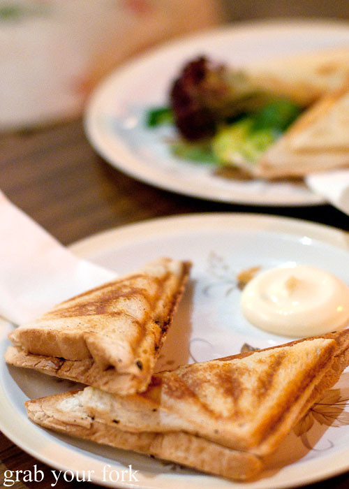 jaffles at grandma's bar