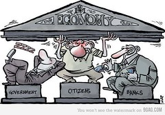 [Image] Economy: Government vs Citizens vs Banks...