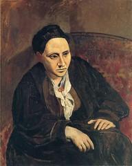 Pablo Picasso. Portrait de Gertrude Stein (1906).