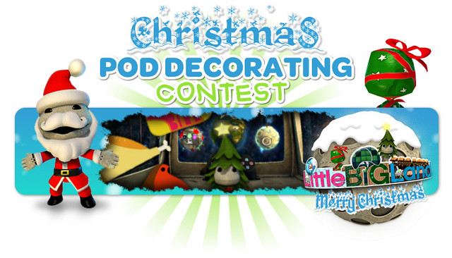 Christmas Pod Decorating: LittleBigPlanet 2