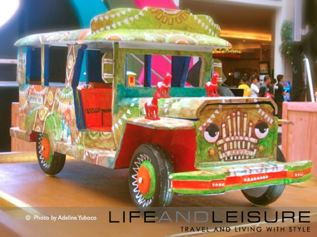 Fiesta on Wheels jeepney art