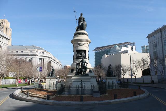 Pioneer Monument in San Francsico