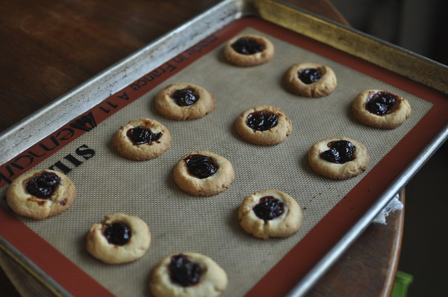 sour cherry thumbprints