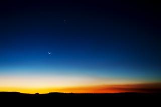Sun, Moon and Venus (explored)