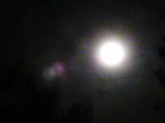 full moon, astronomical object, lens flare,