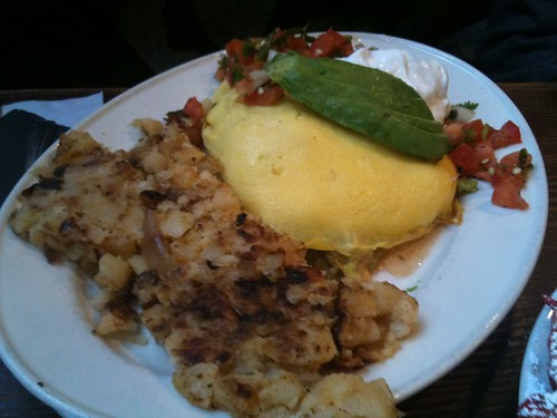"Omelette ""My Soul"" w/ Steak"