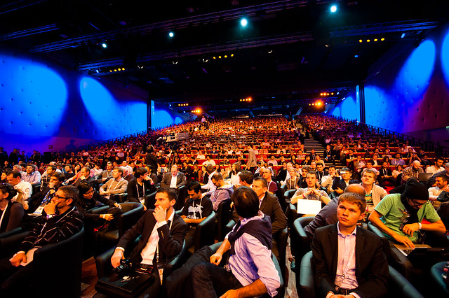 Audience @ LeWeb 11 Les Docks-9306 from Flickr via Wylio