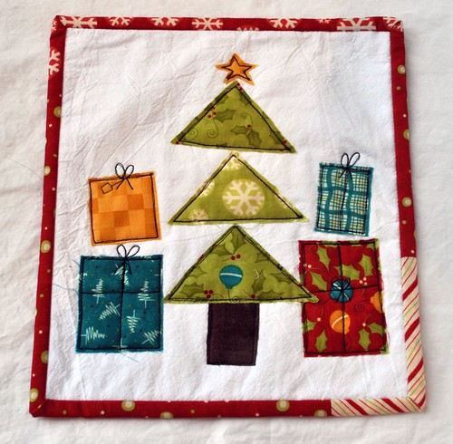 mini quilt for SMS giveaway day