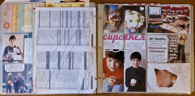 October 29 - November 4, 2011 {Project Life Album} Full Spread 1