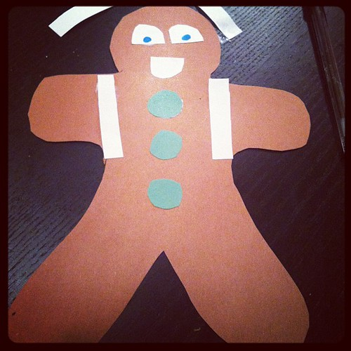 My gingerbread man