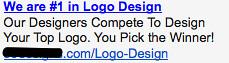Logo Design - Ad #1