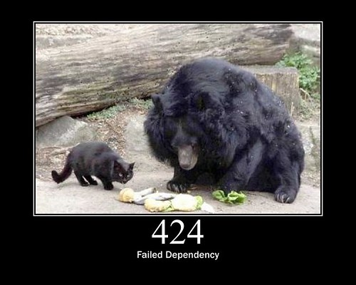 424 - Failed Dependency