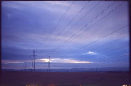 Pylons, Zeiss Ikon Nettar 515/2 - Kodak Ektachrome