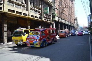 the oldest Colon street in Cebu City in Philippines