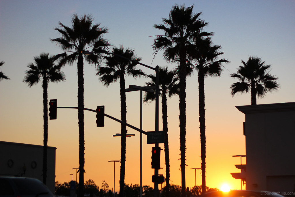 socal sunset
