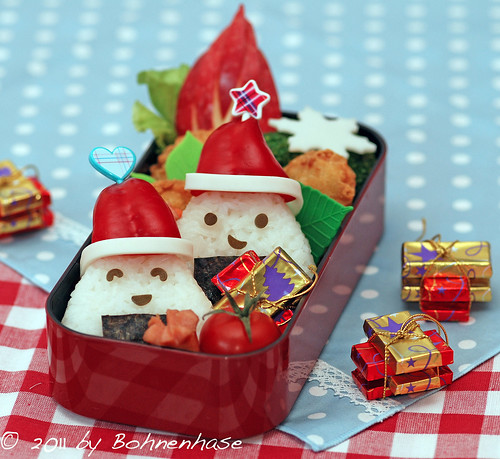 Bento #13: Santa Claus Onigiri