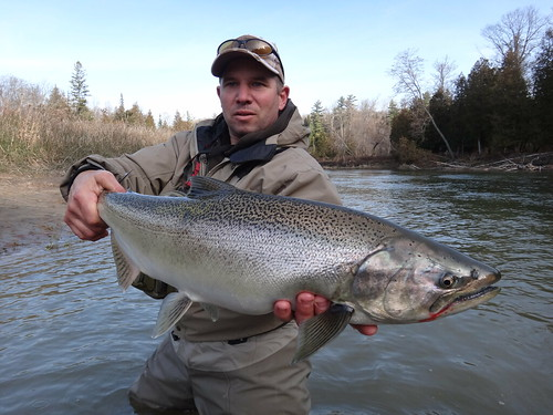 Mike with salmon