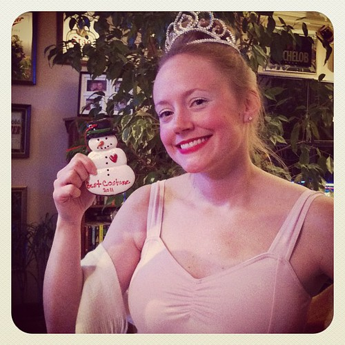 I won best #costume :) thanks guys #ballerina #sugarplumfairy