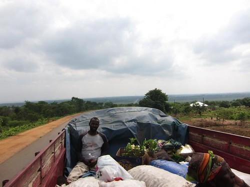 hitchhiking zambia africa