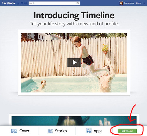 How to enable Timeline in Facebook?