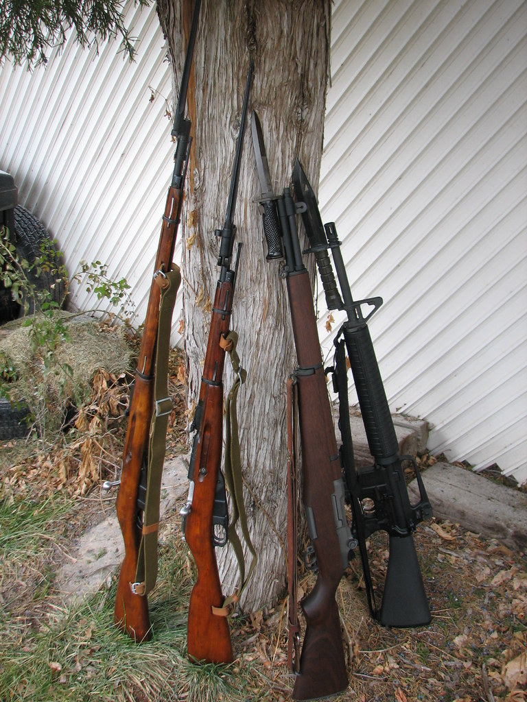 WW2 military rifles - Auto & Semi-Auto Discussion