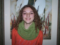 ic51, crochet, scarf,cowl