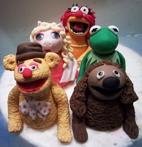 muppet friends cake toppers by Yahairam