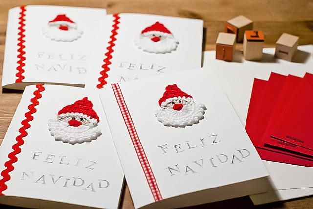 6554277775 96df601e96 - Tarjetas de navidad artesanales ...