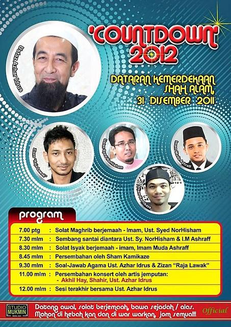 Countdown 2012 bersama Ustaz Azhar Idrus