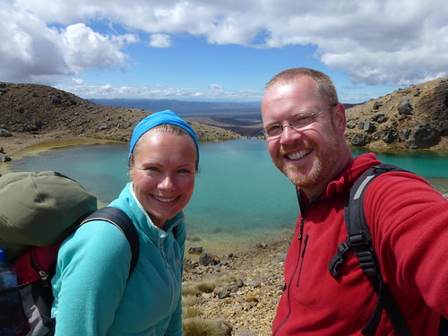 Tongariro Alpine Crossing - Emerald Lakes - 5