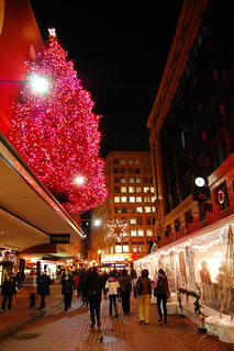 Downtown Crossing for the holidays