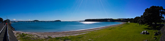 Orakei Bay panorama