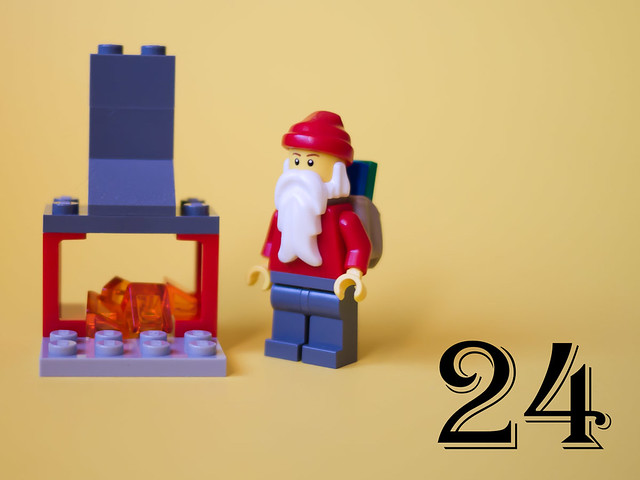 Day 24: Santa Claus and a fireplace