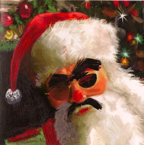 Faveourite Christmas cards: Lorry Sartorio's