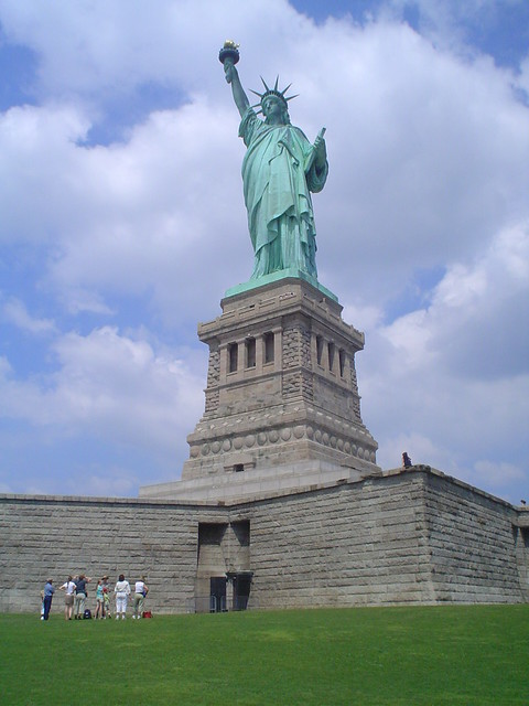 Photo de la Statue de la Liberté sur Liberty Island, New York, USA