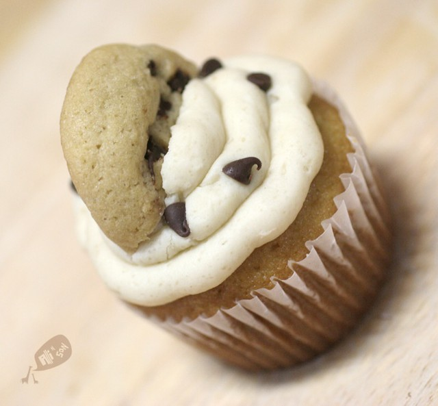 Cookie Dough Cupcakes