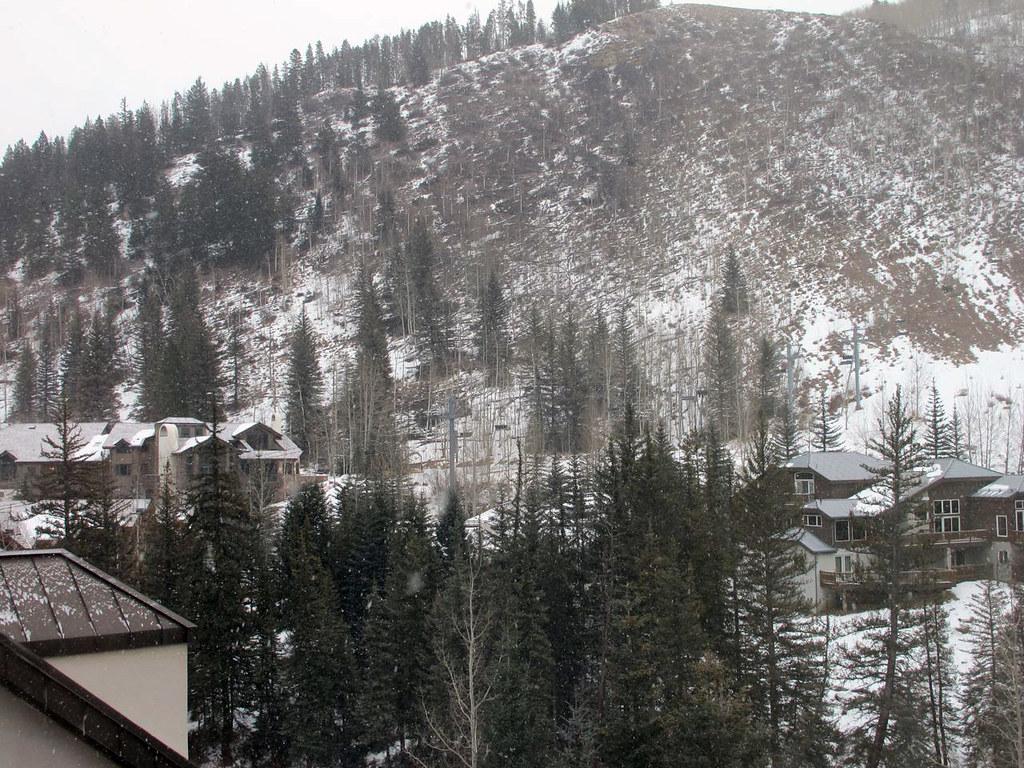 The snow! It´s snowing!