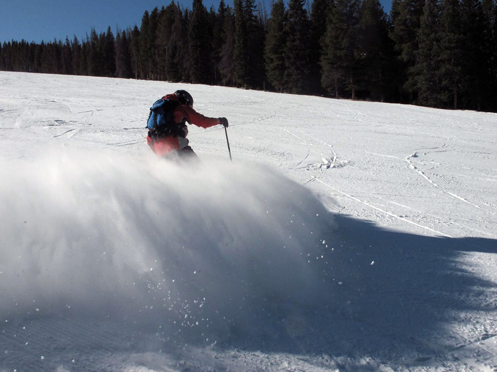 One day I want to ski like he does.