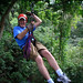 Gary Ziplining on the Congo Trail Canopy Tour by Numinosity (Gary J Wood)