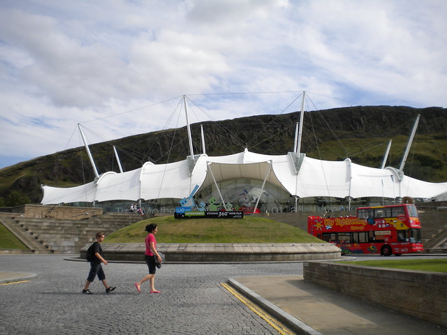 Our Dynamic Earth de Edimburgo