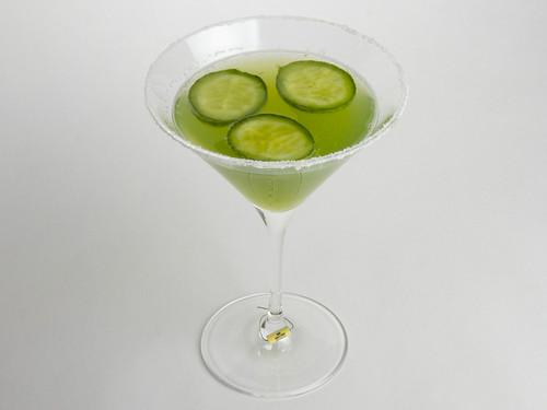 Cucumber Martinis 17