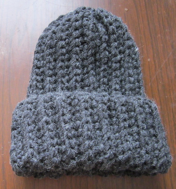 Crochet Ribbed Hat : Crochet Ribbed Hat Black Flickr - Photo Sharing!