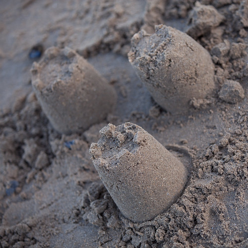 910/1000 - Sandcastles by Mark Carline