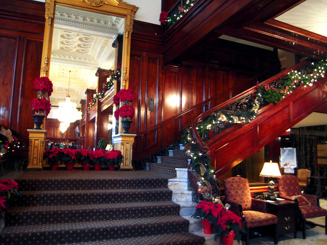 Benson Hotel Lobby Stairwell